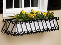 wrought iron planters metal window boxes windowbox com