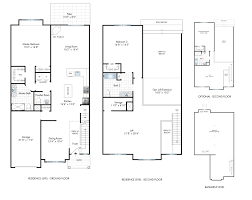 Townhome Floor Plan by Corsica Townhomes Residences Vineyards At Blue Point