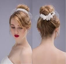 bridal headwear new dramatic net bow birdcage veil hats bridal headwear wedding