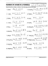 9 best images of chemistry conversion worksheets with answers