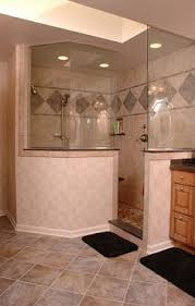 Shower Designs For Bathrooms Walk In Shower Out Of Travertine My Work Pinterest