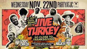 ra it ain t cool being no jive turkey pre thanksgiving