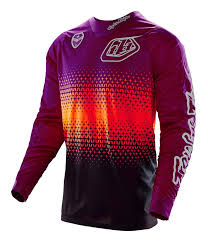 motocross jersey design troy lee se starburst jersey cycle gear