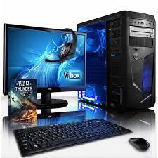 pack ordinateur de bureau vibox vision pack 2sxl pc gamer amd 2 radeon 8370d