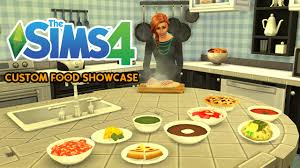 cuisine sims 3 the sims 4 custom food showcase