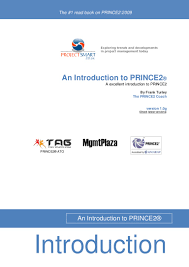 an introduction to prince2 by frank turley