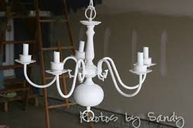 Painting Brass Chandelier Chandelier Makeover Organize With Sandy Organize With Sandy