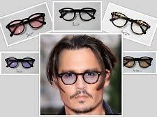 mens light tint sunglasses johnny depp sunglasses ebay