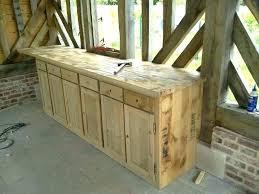 meuble de cuisine en bois cuisine meuble bois facade meuble cuisine bois brut caisson