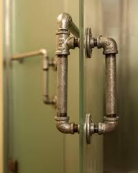 Galvanized Bathroom Lighting Shower Door Handles Bathroom Contemporary With Bathroom Lighting