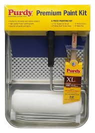 Interior Painting Tools Purdy 140810001 Painters Kit 4 Piece Paint Rollers Amazon Com