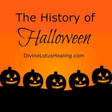 the history of halloween divine lotus healing blog