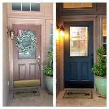 all glass front door the happy homebodies diy front door makeover