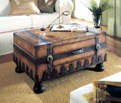 Trunk Style Coffee Table Treasure Chest Coffee Table Chest Style Coffee Table Trunk Style