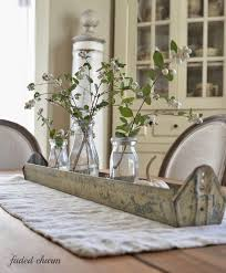 Best  Farmhouse Table Centerpieces Ideas On Pinterest Wooden - Kitchen table decorations