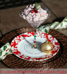 cranberry dishes for thanksgiving waldorf cranberry salad low calorie healthy food done light