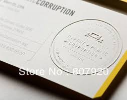 Design Your Own Business Cards Free Online Aliexpress Com Buy Free Shipping Custom Embossed Business Cards