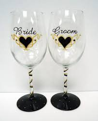 wine glasses for wedding personalized wedding wine glasses and groom wine glass