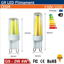 are g9 light bulbs dimmable mini dimmable g9 led l 2w 4w 110v 220v lada led filament g9