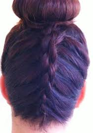 howtododoughnut plait in hair pictures on hair donut styles cute hairstyles for girls