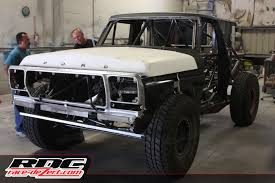 bronco trophy truck steve olliges class 8 build race dezert com