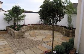 Backyard Flagstone Patio Ideas Backyard Stone Patio Design Ideas Modern With Image Of Backyard