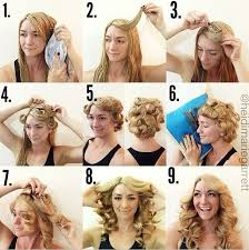 cute girl hairstyles rag curls 10 amazing no heat hairstyles you need to know