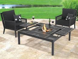 metal patio coffee table classy yet modern look boundless