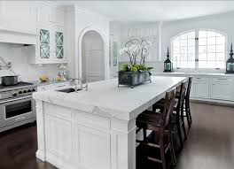 carrara marble kitchen island 60 inspiring kitchen design ideas home bunch interior design ideas