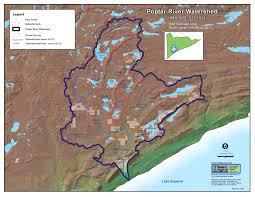 Lake Merritt Map Lakesuperiorstreams Poplar River Maps