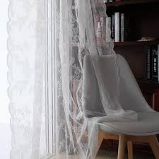 Buy Rustic Home Decor Aliexpress Com Buy Lace Curtains Kitchen Window Rustic Home