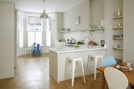 Urban Kitchen London - open kitchen layout traditional with white london architects and