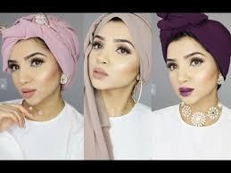 download video tutorial hijab turban 3 trendy turban hijab styles saimascorner youtube