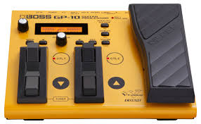 boss gp 10gk guitar processor and synth pedal with gk 3