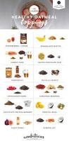 Oatmeal Toppings Bar 150 Calorie Healthy Oatmeal Toppings Oatmeal Toppings Oatmeal
