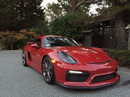 carmine red porsche fs 2016 cayman gt4 carmine red los angeles 1 owner