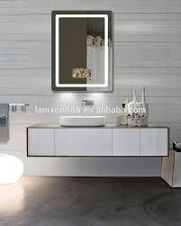 french style salon mirror tv led illuminated magic tv mirror for