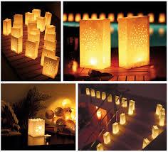 bougie jardin les photophores lions lanternes en papier pour bougie