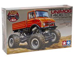 tamiya mercedes benz unimog 406 1 10 4x4 crawler truck tam58414