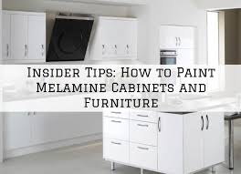 what paint to use on melamine kitchen cabinets insider tips how to paint melamine cabinets and furniture