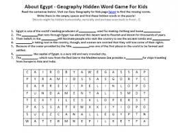egypt worksheet fun geography worksheets for kids
