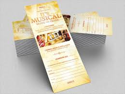 15 concert ticket templates free psd ai vector eps download