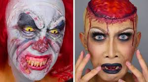 how to do halloween makeup top 15 halloween makeup tutorials compilation 2017 easy