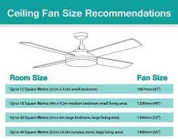 46 inch ceiling fan room size size ceiling fan dimension mm size ceiling fan small bedroom yepi club