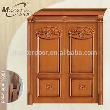 Exterior Wooden Door Flat Exterior Wooden Doors Design Catalogue View Wooden