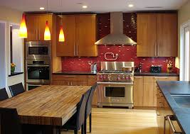 what backsplash goes with light wood cabinets your kitchen great backsplashes for wood cabinets