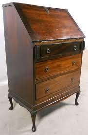 Queen Anne Style Mahogany Writing Bureau 135399