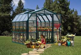 Palram Lean To Greenhouse Rion Grand Gardener 2 Clear 8x8 Greenhouse Hg7208c Free Shipping