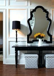 Black Foyer Table Black Console Table Lifeunscriptedphoto Co