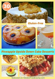 gluten free pineapple upside down cake recipes
